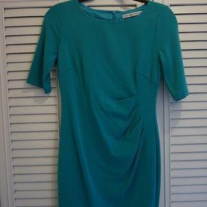 Trina Turk Teal Mini Dress